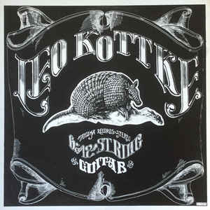 Leo Kottke - 6- And 12-String Guitar - Album Cover