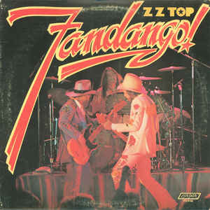 ZZ Top - Fandango! - Album Cover
