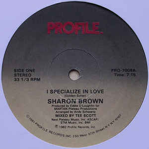 Sharon Brown - I Specialize In Love - VinylWorld
