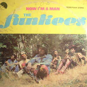 The Funkees - Now I'm A Man - Album Cover