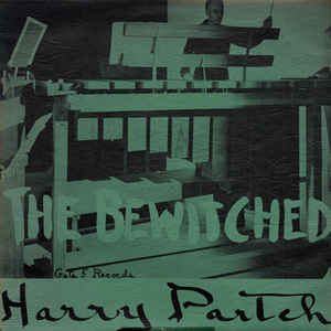 Harry Partch - The Bewitched - Album Cover