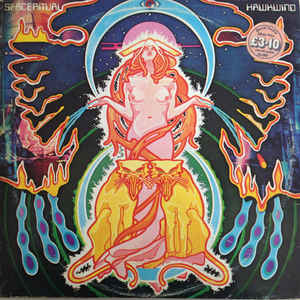 Hawkwind - Space Ritual - Album Cover