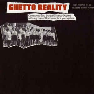 Nancy Dupree - Ghetto Reality - Album Cover