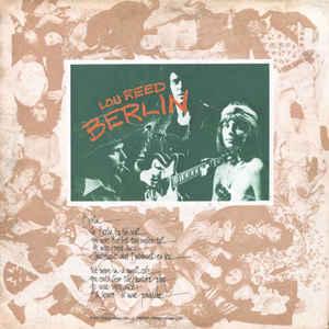 Lou Reed - Berlin - Album Cover