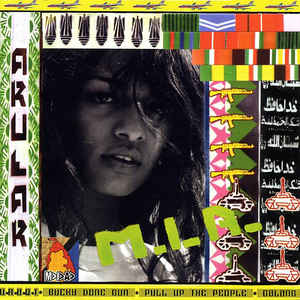 M.I.A. (2) - Arular - Album Cover
