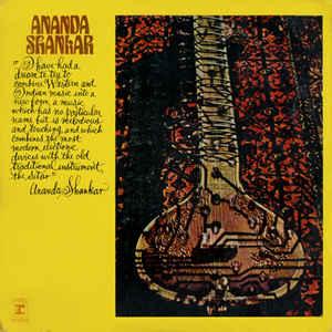 Ananda Shankar - Ananda Shankar - Album Cover