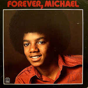 Michael Jackson - Forever, Michael - Album Cover