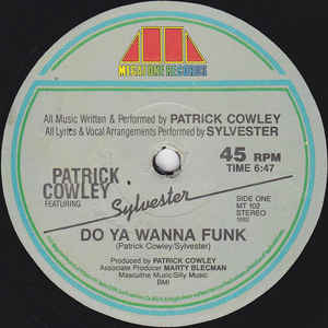 Patrick Cowley - Do Ya Wanna Funk - Album Cover