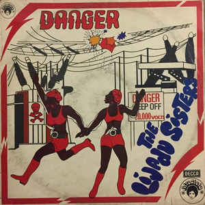 Lijadu Sisters - Danger - Album Cover