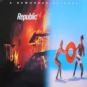 New Order - Republic - Album Cover