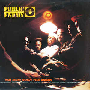 Public Enemy - Yo!  Bum Rush The Show - Album Cover