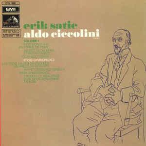 Erik Satie - Pieces Pour Piano (Volume 1) - Album Cover