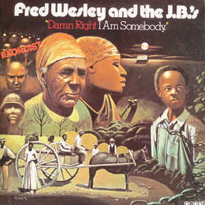 Fred Wesley & The JB's - Damn Right I Am Somebody - VinylWorld
