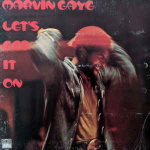 Marvin Gaye - Let's Get It On - Album Cover