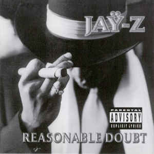 Jay-Z - Reasonable Doubt - Album Cover