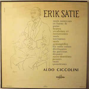 Erik Satie - Aldo Ciccolini - Album Cover - VinylWorld