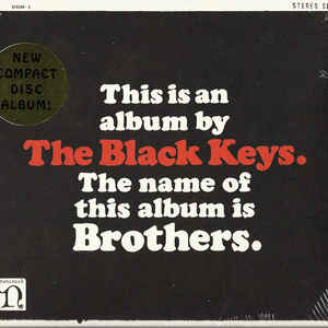 The Black Keys - Brothers - Album Cover
