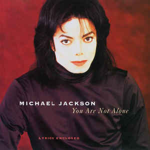 Michael Jackson - You Are Not Alone - Album Cover