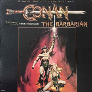 Conan The Barbarian - Original Motion Picture Soundtrack - Album Cover - VinylWorld
