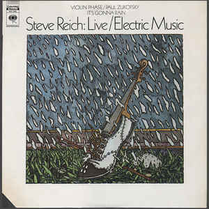 Steve Reich - Live / Electric Music - Album Cover