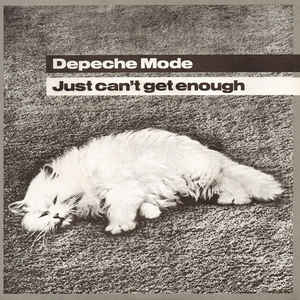 Depeche Mode - Just Can't Get Enough - Album Cover