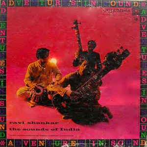 Ravi Shankar - The Sounds Of India - Album Cover