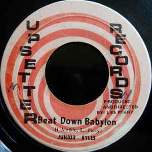 Junior Byles - Beat Down Babylon - Album Cover