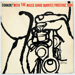 Cookin' With The Miles Davis Quintet - Album Cover - VinylWorld