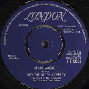 Allah Wakbarr / Beautiful Daddy - Album Cover - VinylWorld