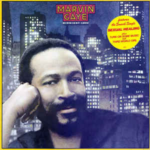 Marvin Gaye - Midnight Love - Album Cover