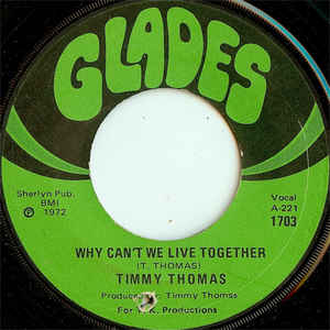 Timmy Thomas - Why Can't We Live Together / Funky Me - VinylWorld