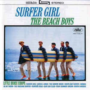 The Beach Boys - Surfer Girl - Album Cover