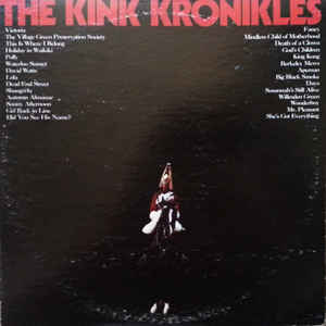 The Kinks - The Kink Kronikles - Album Cover
