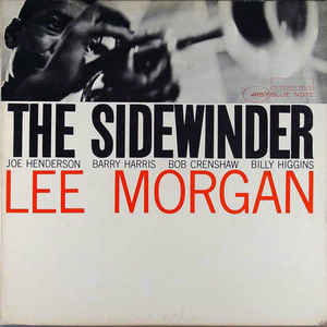 Lee Morgan - The Sidewinder - Album Cover