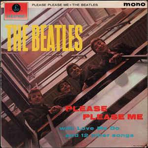 The Beatles - Please Please Me - Album Cover