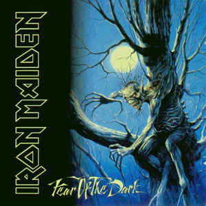 Iron Maiden - Fear Of The Dark - Album Cover