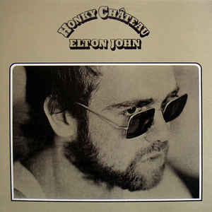 Elton John - Honky Château - Album Cover