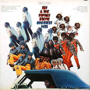 Sly & The Family Stone - Greatest Hits - Album Cover