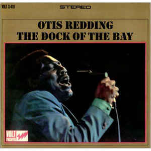 Otis Redding - The Dock Of The Bay - Album Cover