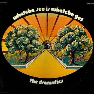 The Dramatics - Whatcha See Is Whatcha Get - Album Cover