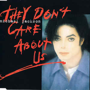 Michael Jackson - They Don't Care About Us - Album Cover