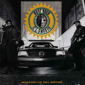 Pete Rock & C.L. Smooth - Mecca And The Soul Brother - Album Cover