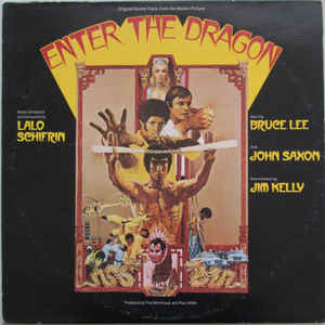 Lalo Schifrin - Enter The Dragon (Original Sound Track From The Motion Picture) - Album Cover