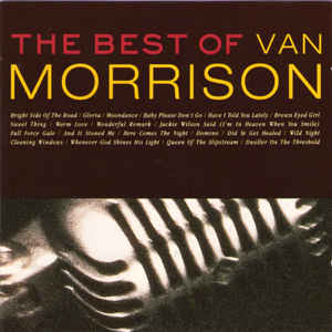 Van Morrison - The Best Of Van Morrison - Album Cover