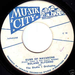 Guns Of Navarone / Where Is Garvey? - Album Cover - VinylWorld