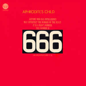 Aphrodite's Child - 666 - Album Cover