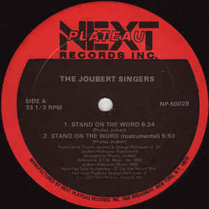 The Joubert Singers - Stand On The Word - VinylWorld