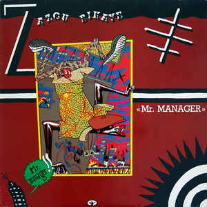 Zazou Bikaye - Mr. Manager - Album Cover