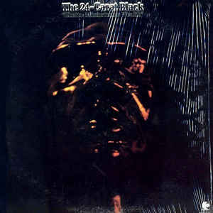 24 Carat Black - Ghetto: Misfortune's Wealth - Album Cover