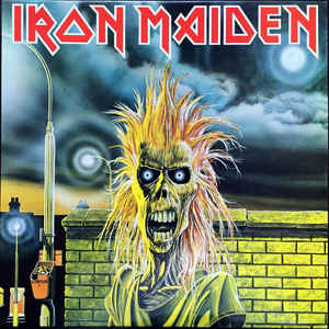 Iron Maiden - Iron Maiden - Album Cover